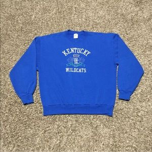 Vintage University Of Kentucky Wildcats Sweatshirt
